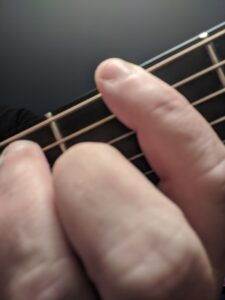 G Blues Scale on Guitar